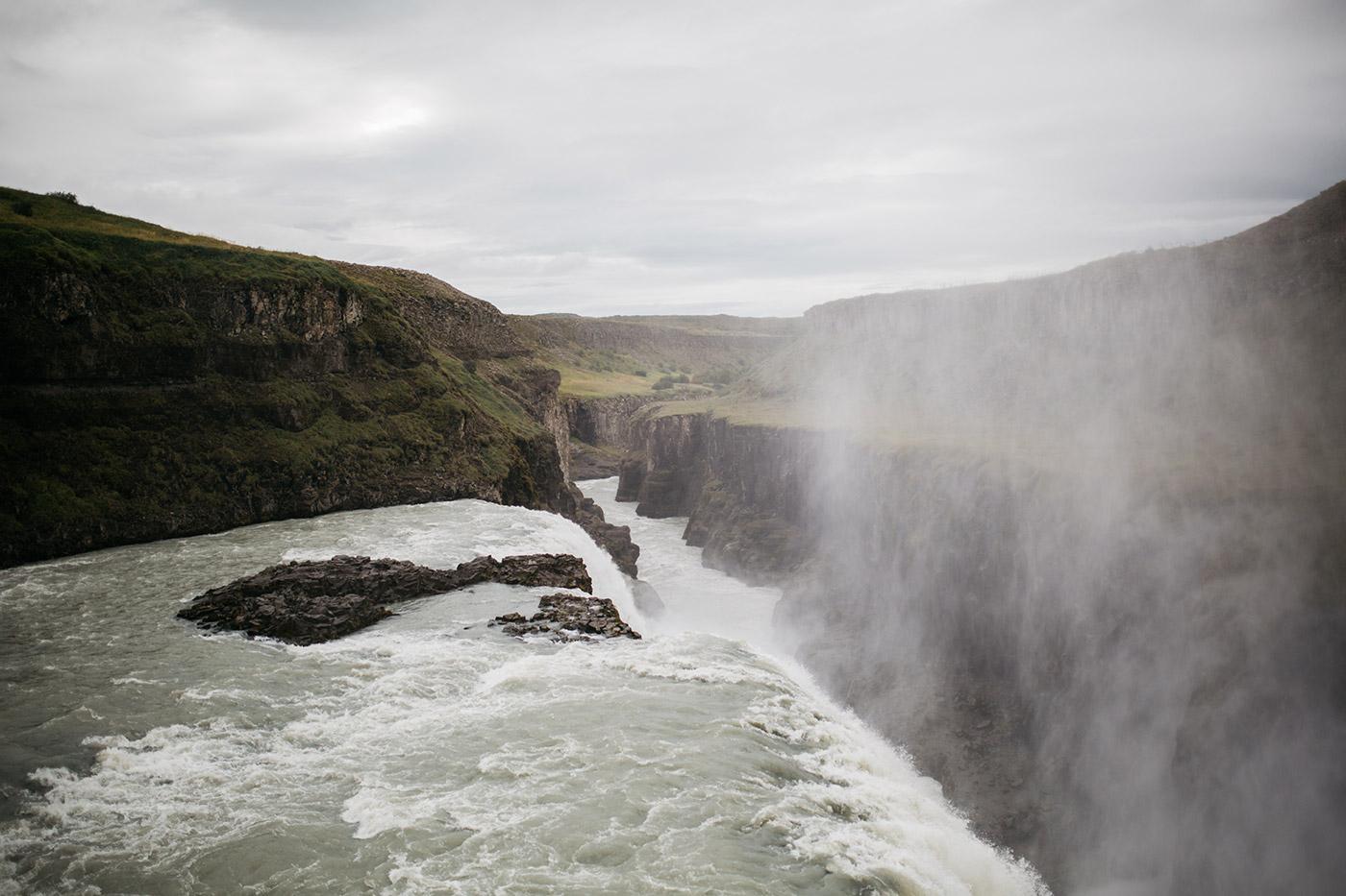 Gulfoss - Iceland - Candice Lesage